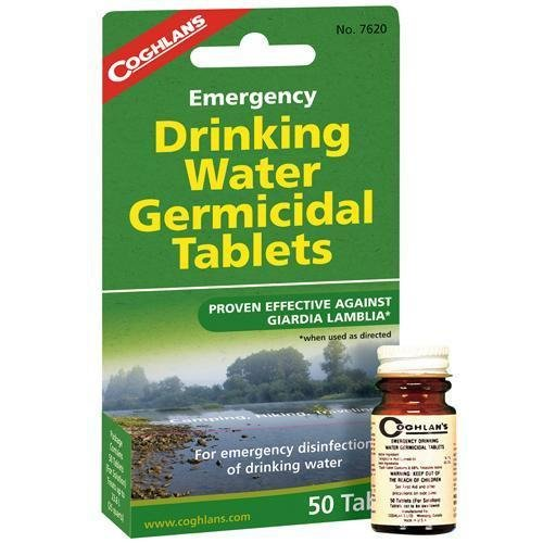 Coghlan's Emergency Drinking water Germicidal Tablets