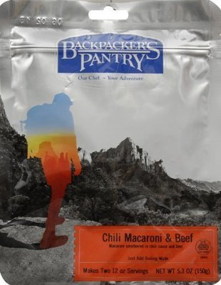 Backpackers Pantry Chili Macaroni Beef