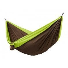 La Siesta Colibri Double Hammock Blue/Brown