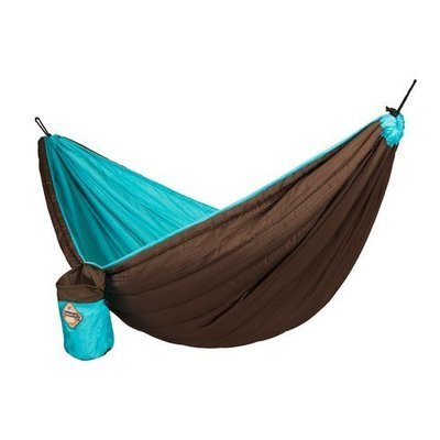 La Siesta Colibri Double Travel Hammock Green/Brown