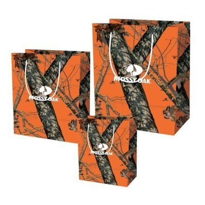Mossy Oak Gift Bags Orange