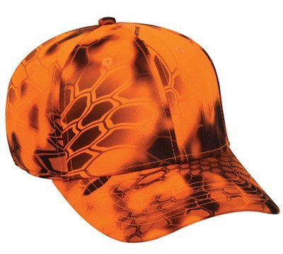 Kryptic Camo Cooling Hats Inferno (Orange)