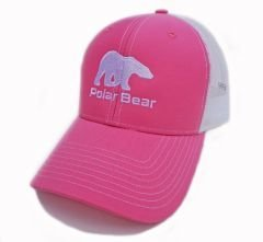 Polar Bear Hat Pink