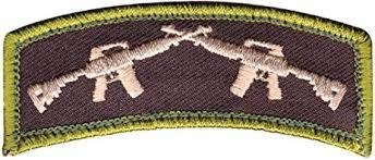 Rothco Crossed Rifles Patch