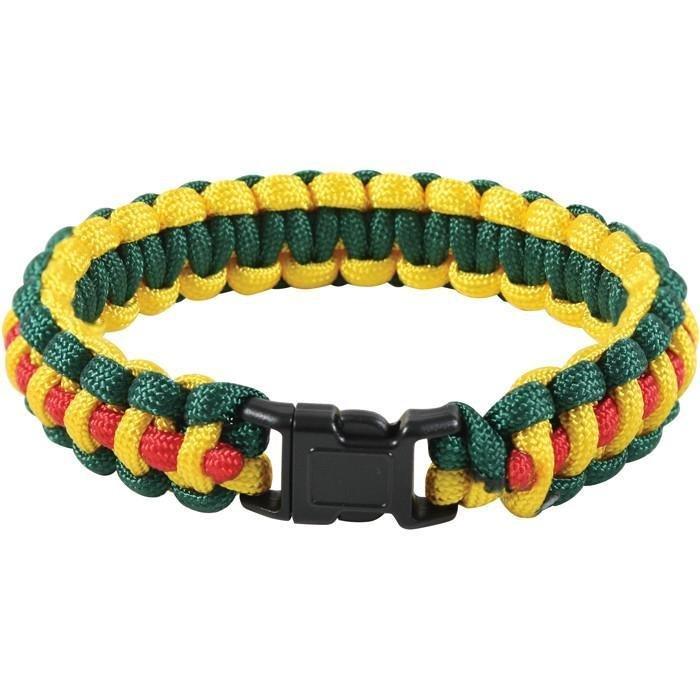 Rothco Multi-Colored Paracord Bracelet Vietnam Pattern 941ern-941