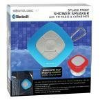 SoundLogic XT Splash Proof Speaker with Fm Radio & Carabiner Blue