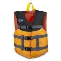 MTI Youth Livery PFD - Mango/Black