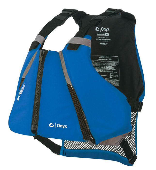 Onyx Paddle Vest PFD Blue/Black Medium/Large