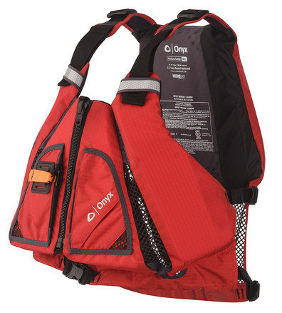 Onyx Paddle Vest PFD Red/Black Medium