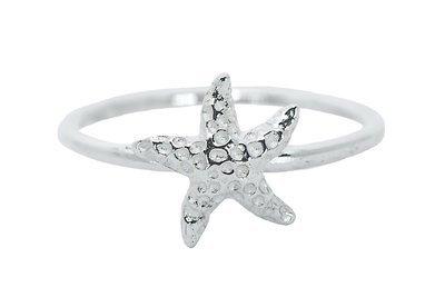 Pura Vida Silver Starfish Ring