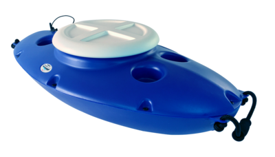 Creek Cooler Towable Kayak Cooler ( Blue )