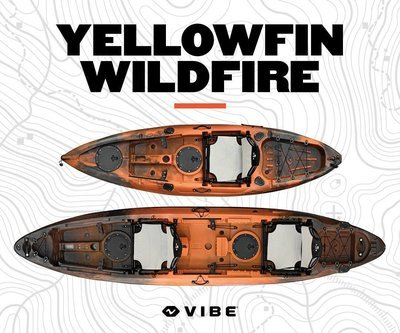 Vibe Yellowfin T130 Tandem (2018) Wildfire
