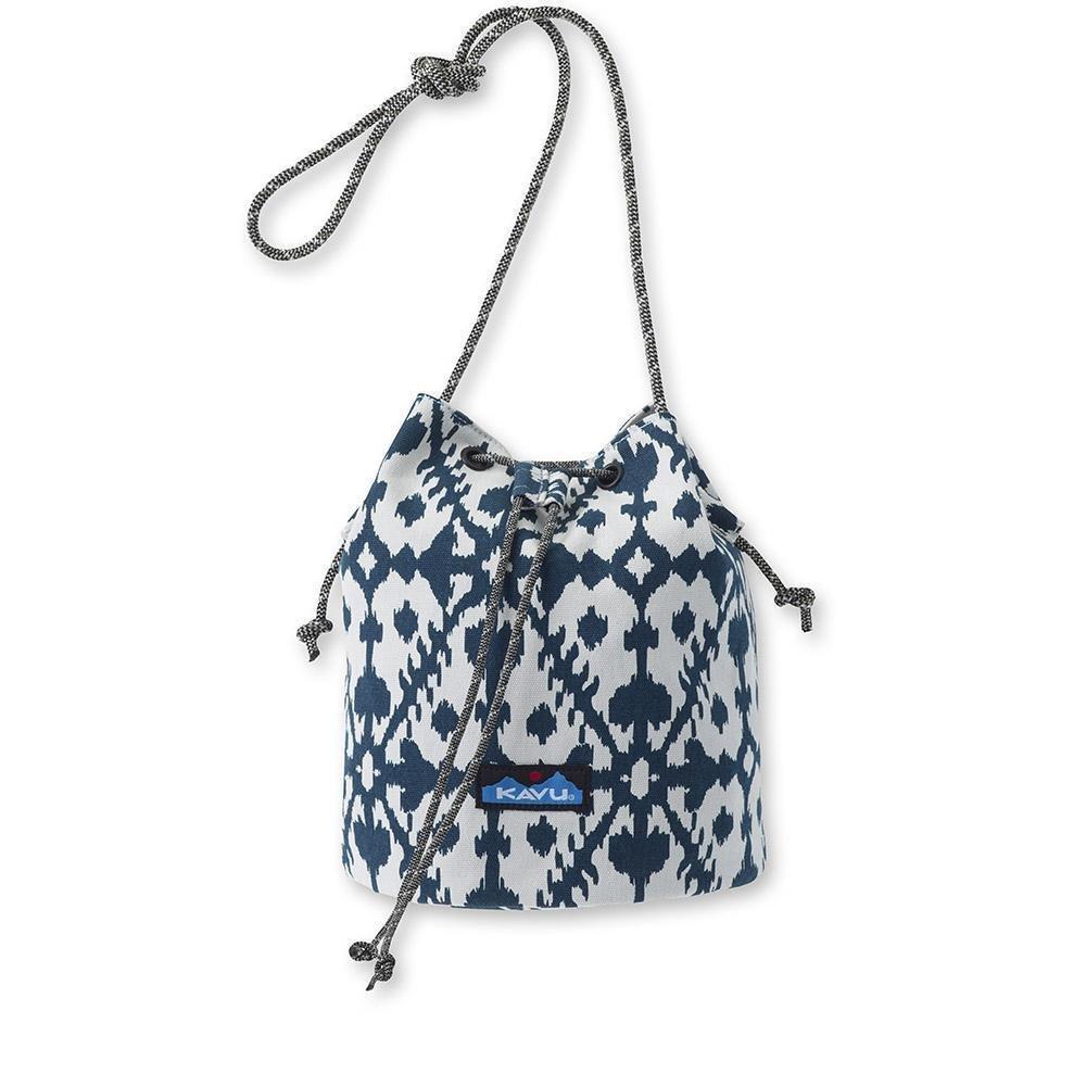 Kavu Bucket Bag Blue Dot