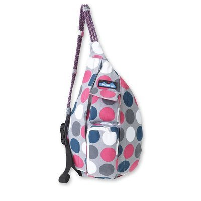 Kavu Mini Rope Bag  Blue Dot