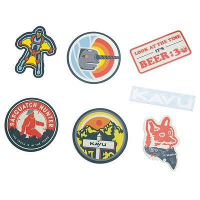 Kavu Sticker Pack Scout Badges