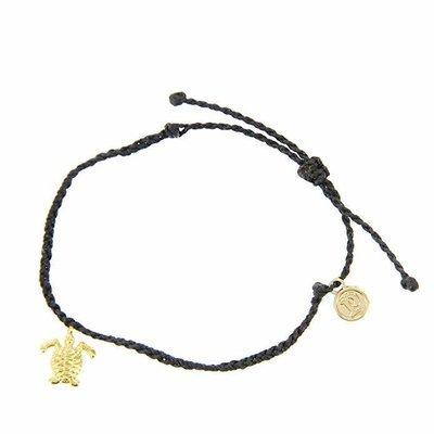 Pura Vida Turtle Bitty Charm Bracelet