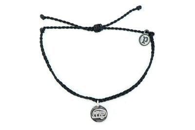 Pura Vida Silver Camper Van Bitty Charm Bracelet