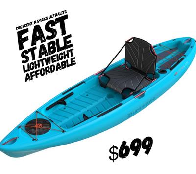 Crescent Kayaks  Ultra Light 10'2