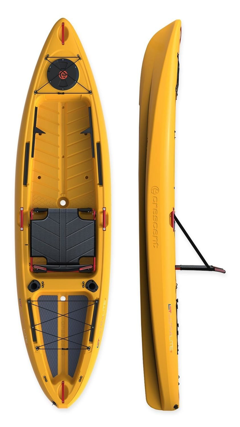 Crescent Kayak Ultralight 10.2 Tangerine **** Store pickup only No Shipping ****