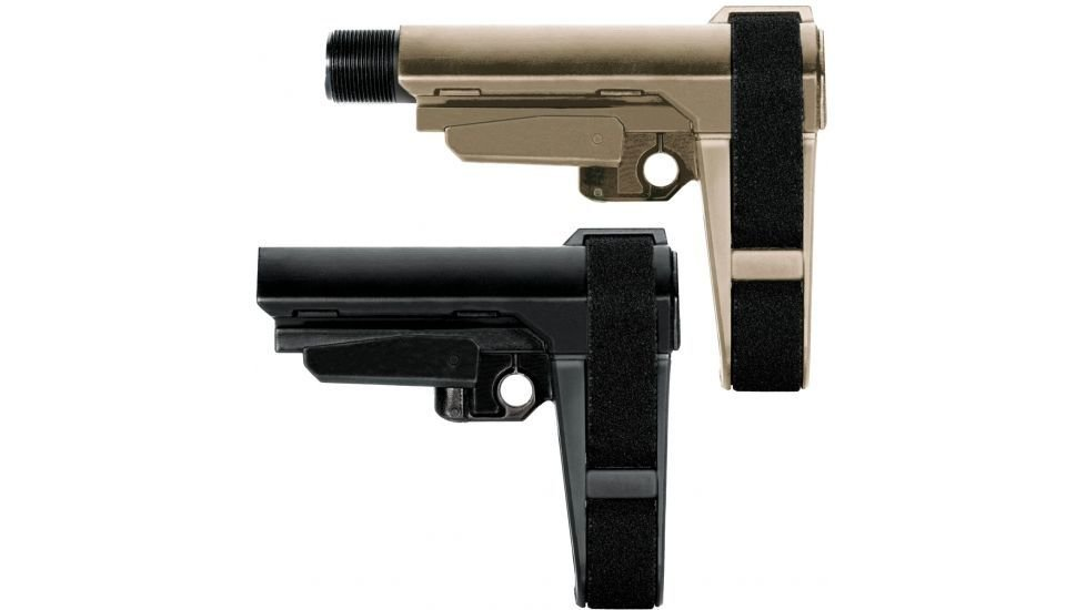 SBA Tactical Brace FDE