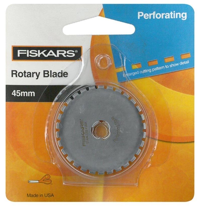 Лезвие для резака Fiskars, пунктир, 45мм 9537