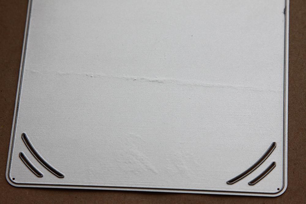 УЦЕНКА (подробно в описании) Нож для вырубки Аврора: Подложка с прорезями под фотографию 10х15см, Scrapfriend