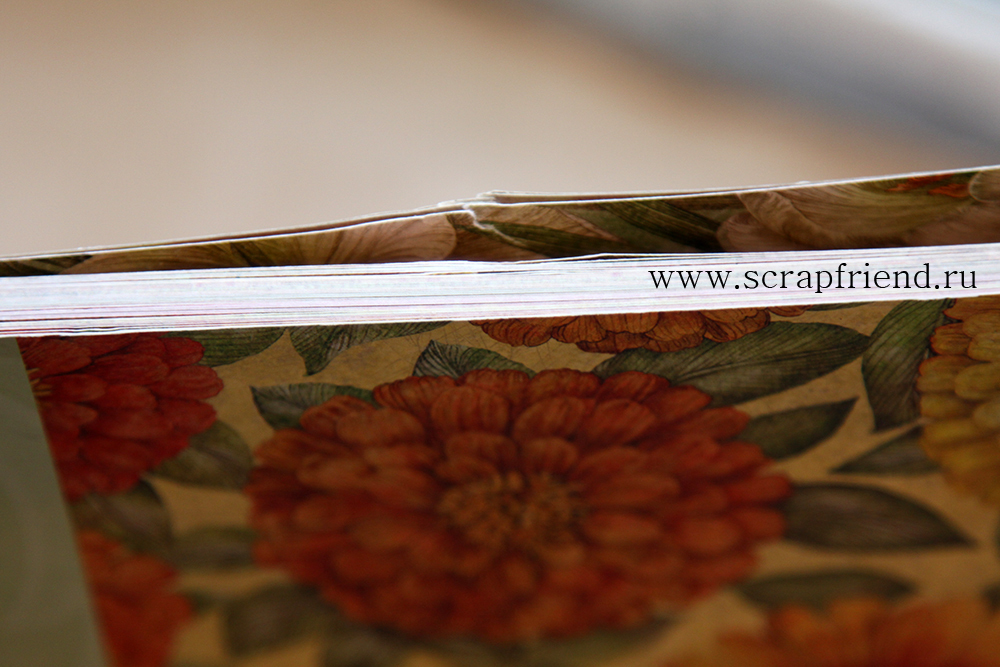 Набор бумаги KCompany Сад, 36 листов, 30х30см