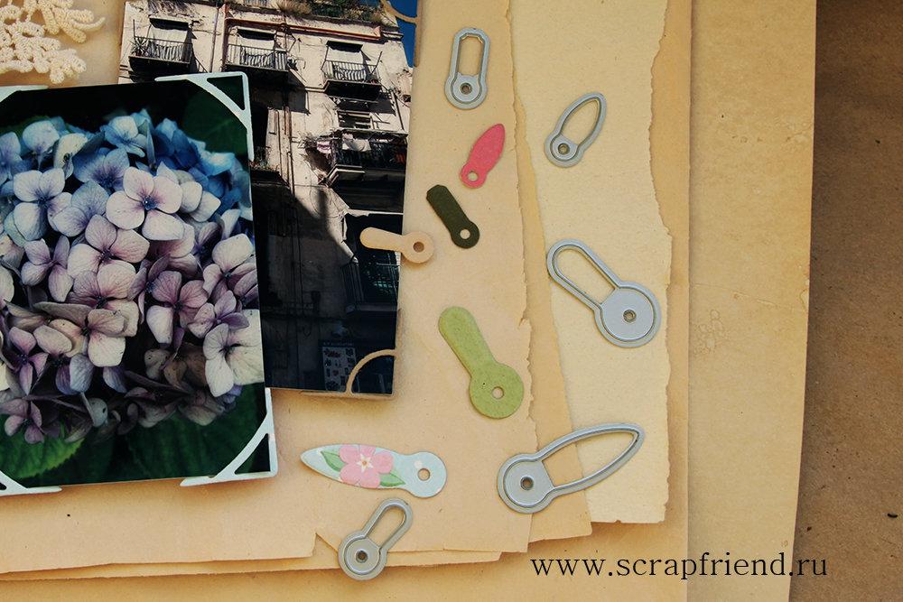 Набор ножей для вырубки Анкеры, 5 штук, 1,6-3,2см, Scrapfriend sf0036