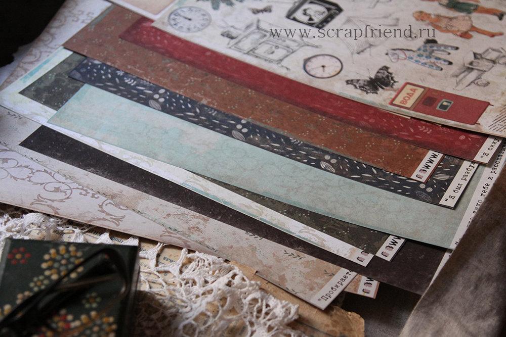 Скрап-бумага от Scrapfriend. Автор коллекции и изображения @carambolka_