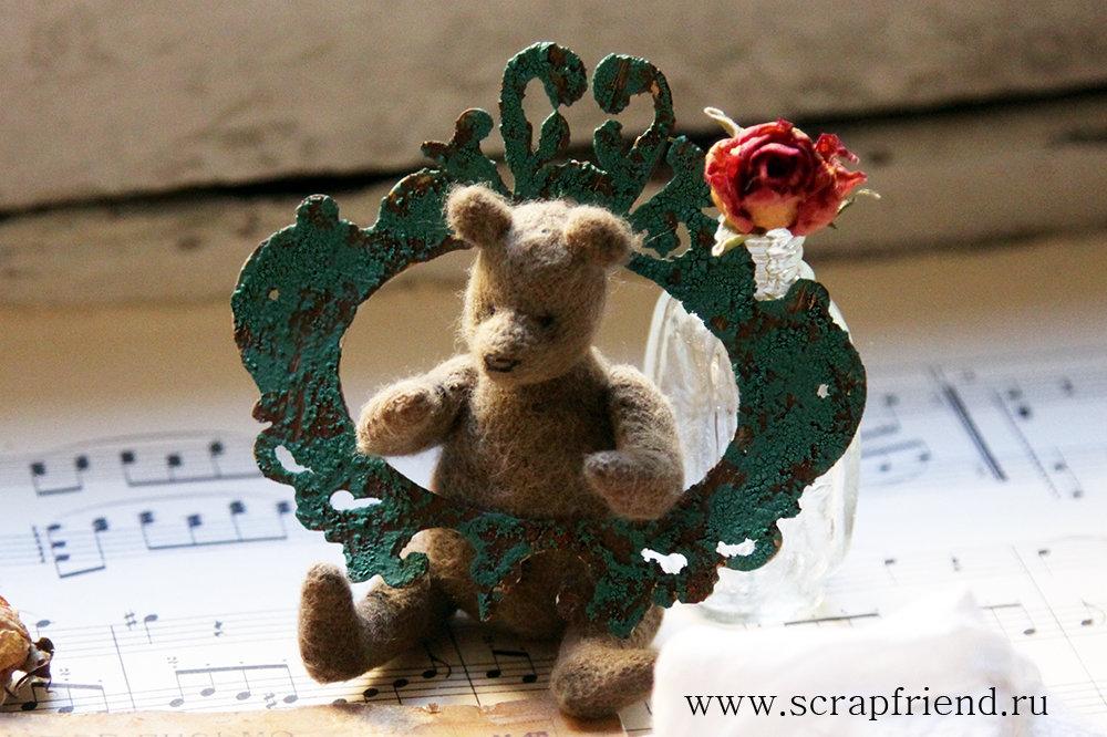 Автор фотографии @carambolka_. Автор медведя Наталья Дубровская.
