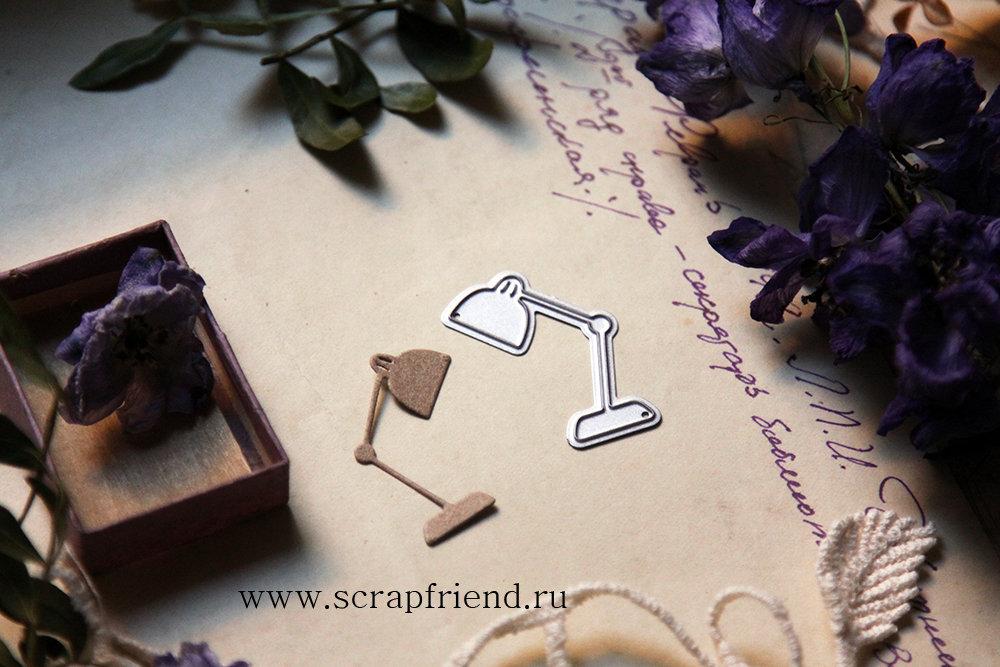 Нож для вырубки Лампа, 2,5х3,5см, Scrapfriend sf0144