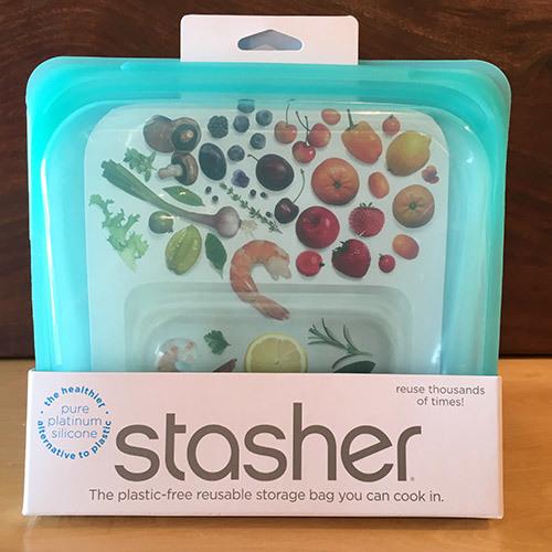Stasher Sandwich Bag / Teal 816990012608