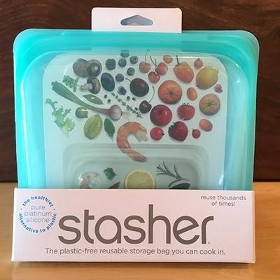 Stasher Sandwich Bag / Teal