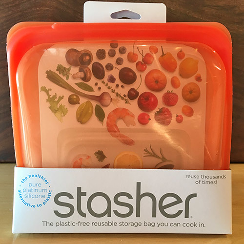 Stasher Sandwich Bag / Orange 816990012615