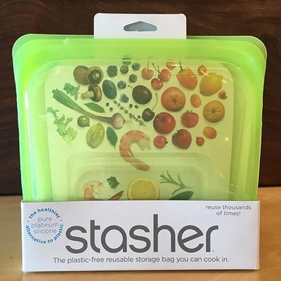 Stasher Sandwich Bag / Lime