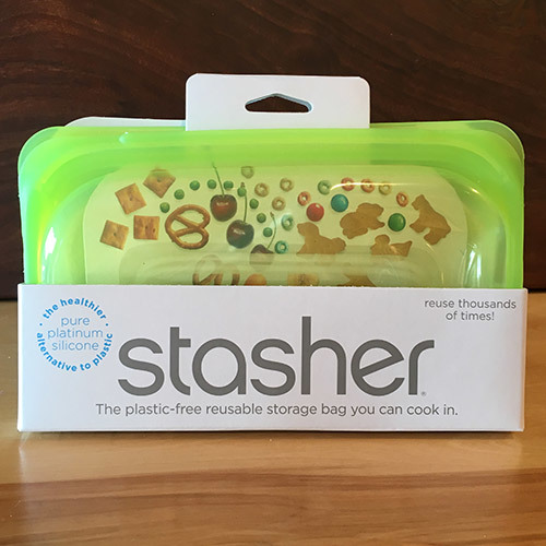 Stasher Snack Bag / Lime 816990012769