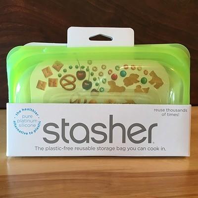 Stasher Snack Bag / Lime