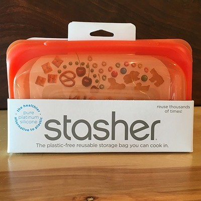 Stasher Snack Bag / Orange