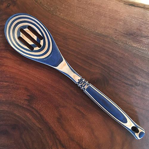 Pakka Hardwood Slotted Spoon 0964444411816