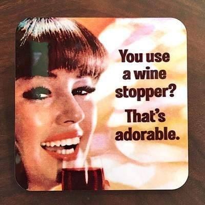 Coaster / Wine Stopper