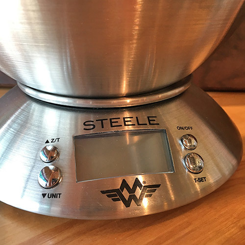 Steele Kitchen Scale