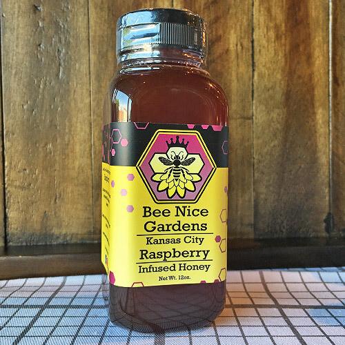 Raspberry Infused Honey