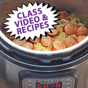 Make Friends with your Instant Pot & Pressure Cooking with Chef Jill Garcia Schmidt