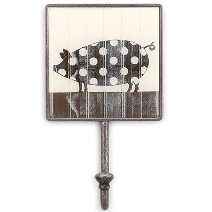 Polka Dot Pig Magnetic Hook 00005