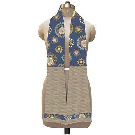 'Navy Floral' Kitchen Boa® 1004180099