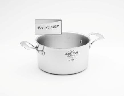 "'Bon Appetit' 4 quart Stock Pot & 8"" Lid"