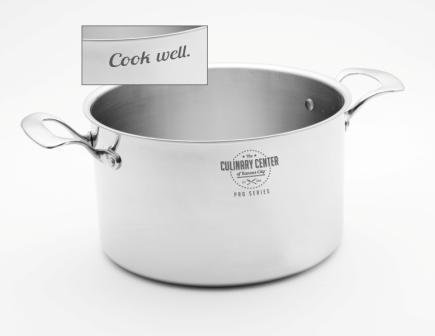 "'CookWell' 8 quart Stock Pot & 10"" Lid"