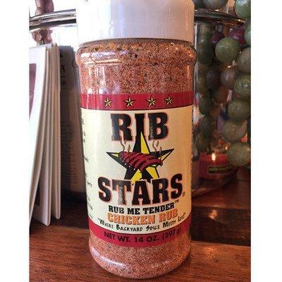 Rib Stars Chicken Rub