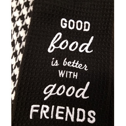 'Good Food Good Friends' Kitchen Boa®