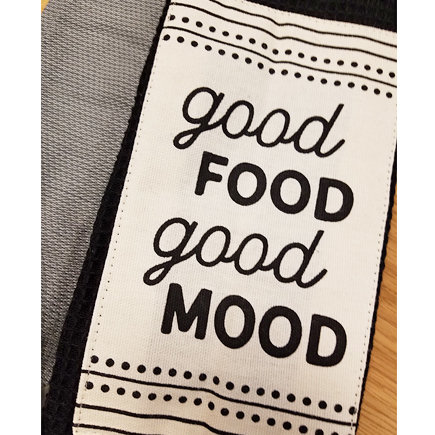 'Good Food Good Mood' Kitchen Boa®